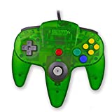 Cheap Childhood Gamelink Retro Classic USB Controller Gamepad Joysticks for N64 Style PC MAC Clear Jungle Green