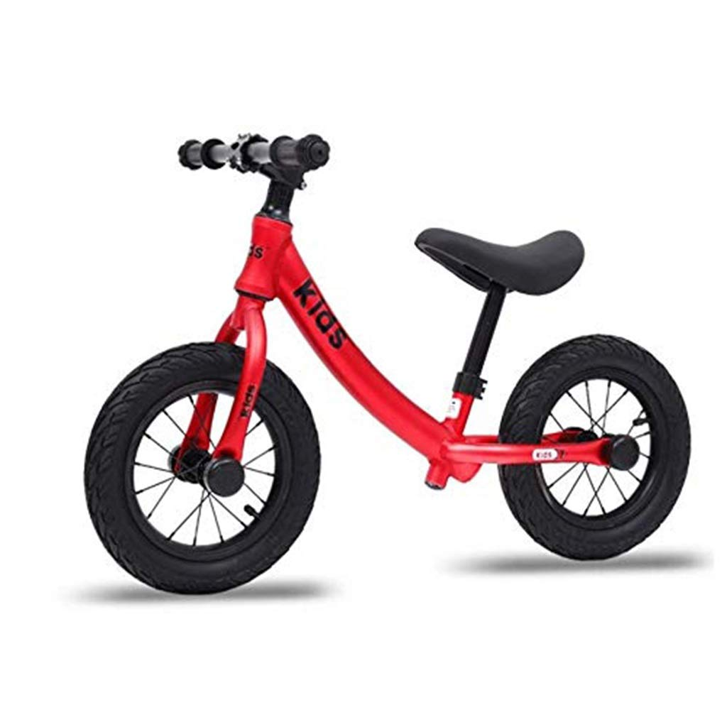 rouge  SSRS   Voiture for Enfants sans glissière à pédale 2-3-6 Ans vélo Enfant Scooter à Deux Roues (Couleur   bleu)