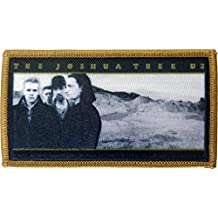 "U2 Joshua Tree, Officially Licensed, Iron-On / Sew-On, 3.2"" x 3.2"" Embroidered PATCH"