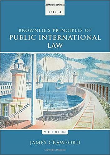 Brownlie's Principles of Public International Law, 9th Edition - Original PDF