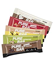All Natural high Percentage Protein Low carb Essential Pure bar by PROM-IN (65g) (Pistachio)