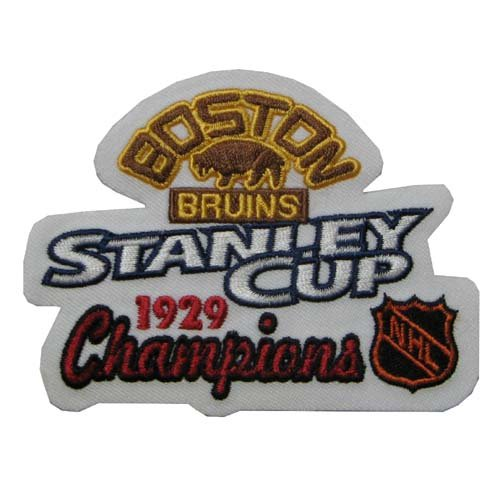NHL Team Logo Patch NHL Team: Boston Bruins - Stanley Cup Champions 1929