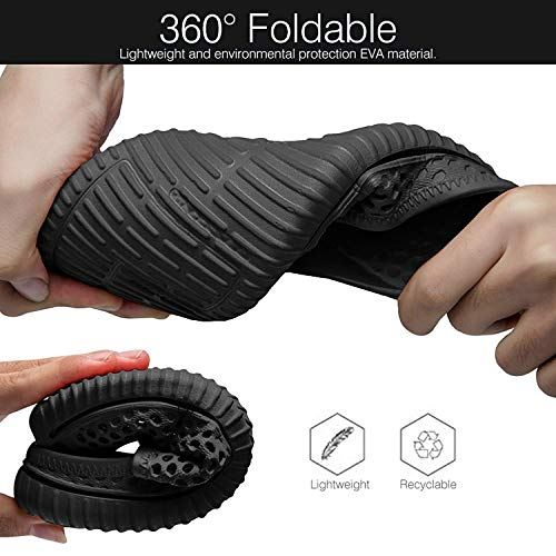 Footwear For Unisex Beach Clogs Mesh Sonlleivoo Summer Drying Garden Black Breathable Slippers Couple Shoes Quick Sandals zHgdUOqdwW
