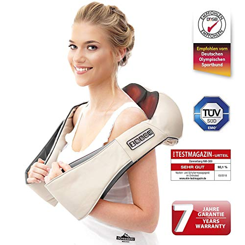 Neck Back Shoulder shiatsu Massager | Premium German Brand | Donnerberg |...