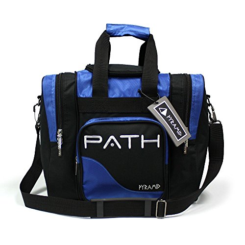 Pyramid Path Single Deluxe Tote Royal Blue
