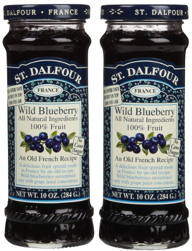 St. Dalfour Wild Blueberry Conserves - 10 oz - 2 Pack