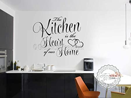 graphics n tees kitchen wall sticker quote kitchen heart of our