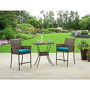 Mejor casas y jardines muebles Fairfield bahía 3piezas Balcón Bistro Set
