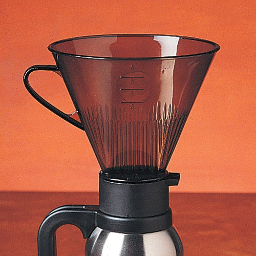 RSVP Manual Drip Coffee Filter Cone for Carafes or Thermos - Coffee Carafe Filter