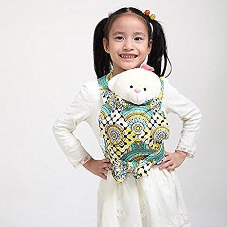 Dot Kal/éidoscope Baby Doll Carrier Mei Tai Sling Toy pour enfants Enfant enfant en bas denfant Dos Mini-porteuse Hibou Fleur Paisley Flower