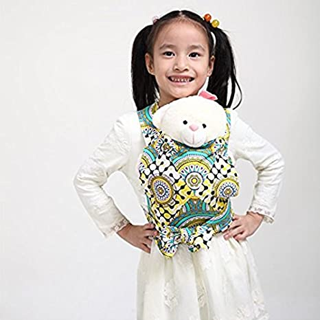 Baby Doll Carrier Mei Tai Sling Toy For Kids Children Toddler Front Back,Mini Carrier,Birthday Christmas Gift Pink Star