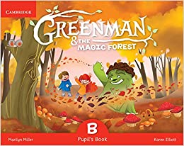 Marilyn Miller - Greenman And The Magic Forest B Pupil's Book With Stickers And Pop-outs - 9788490368343