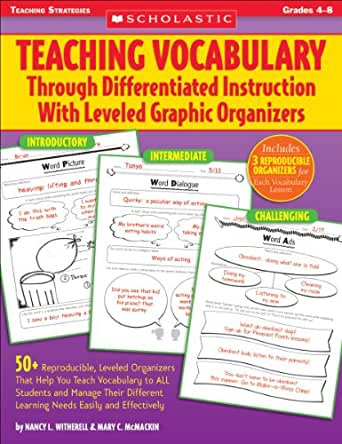 Teaching Vocabulary Through Differentiated Instruction With Leveled