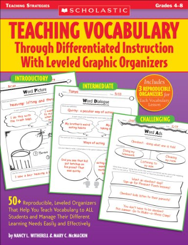 Teaching Vocabulary Through Differentiated Instruction With Leveled Graphic Organizers ()