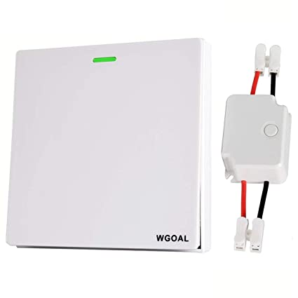 Super Wgoal Wireless Lights Switch Kit Waterproof Wireless Wall Switches Wiring Cloud Hisonuggs Outletorg