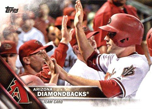(Arizona Diamondbacks 2016 Topps MLB Baseball Regular Issue Complete Mint 27 Card Team Set with Paul Goldschmidt, Jean Segura Plus )