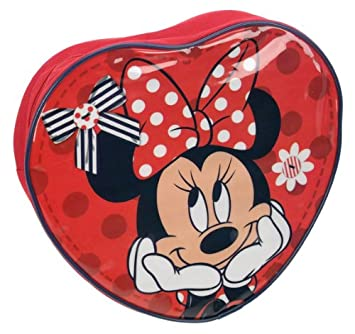 Minnie Mouse Locos Mochila Corazón Minnie: Minnie Mouse Mad About Minnie Heart Backpack: Amazon.es: Equipaje
