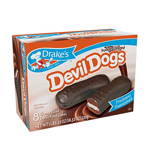 Drake's Fudge Dipped Devil Dogs, 24 Count ()