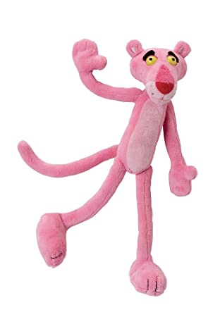Jemini 021695 - Pantera rosa de peluche, 24 cm