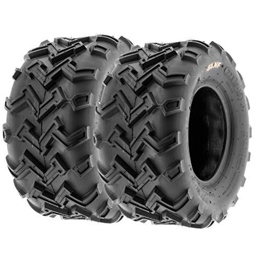 SunF 22x10-10 Off-Road ATV Tires 6 Ply, (Set Pair of 2)