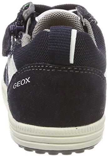 A Azul Bebé Vita navy azul Gris Zapatillas niños white Jr Geox 68OxE6