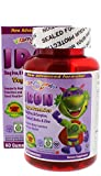 Vitamin Friends - Iron Diet Supplement, New Advanced Formula Vegan Gummies, Organic Certified, Allergen Free, Gluten Free & Vegan Certified (Strawberry, 60 Count)