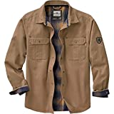 Legendary Whitetails Mens Journeyman Shirt Jacket Barley XX-Large Tall