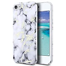 iPod Touch 6 Case,iPod Touch 5 Case,ULAK Slim Anti-Scratch Flexible Soft TPU Bumper PC Back Hybrid Shockproof Protective Cover for Apple iPod Touch 5 / 6th Generation,Pattern Case