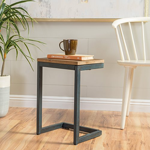 Ramona Small Fir Wood Antique Table by GDF Studio