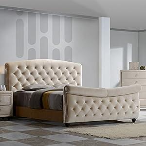 Meridian Furniture Diamond Sleigh Bed