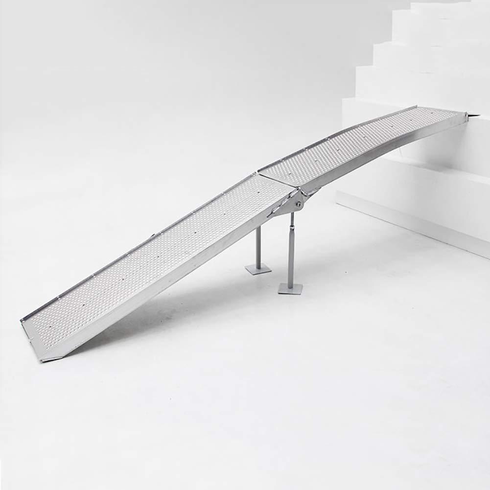 気質アップ スロープ携帯用織り目加工のアルミニウム折る車椅子のしきい値ランプ B07P7H372P B07P7H372P, 神戸町:0ed8fd67 --- a0267596.xsph.ru