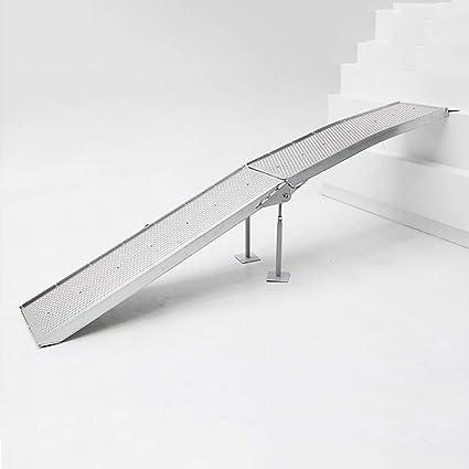 Rampas para Silla de Ruedas rampa de umbral de Silla de Ruedas Plegable de Aluminio con
