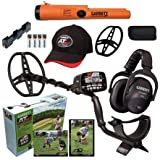 Garrett AT MAX Waterproof Metal Detector, MS-3 Wireless Headphones and Pro-Pointer