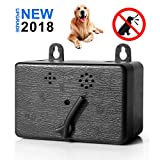 Z-H-C New Upgrade Mini Ultrasonic Dog Bark Control Device, Anti Barking Deterrent, Indoor/Outdoor Stop Barking Training Tool, Sonic Bark Deterrents Silencer, Up to 55 Feet Range