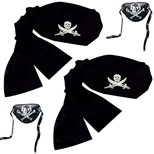 Pirate Headwrap Bandana Hat (2