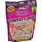 Yummy Earth YumEarth Organics Vitamin C Pops Assorted Fruit -- 8.5 oz