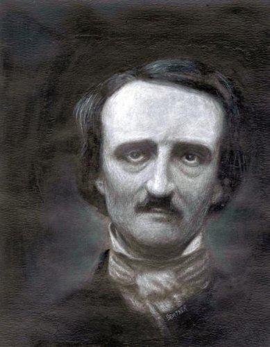 Edgar Allen Poe Poster #01 Master Print