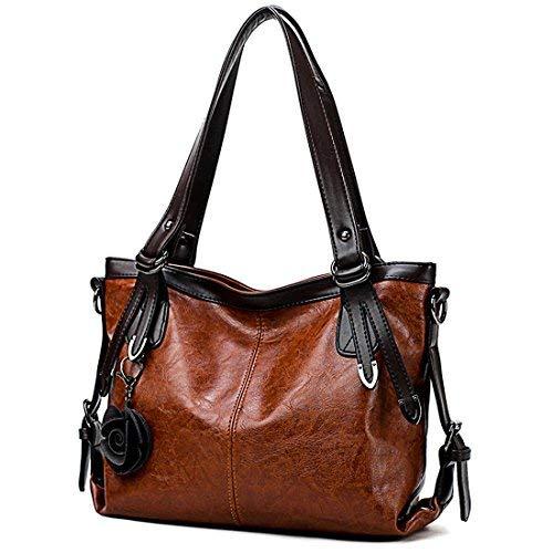 Purple Hobo Handbag - 7