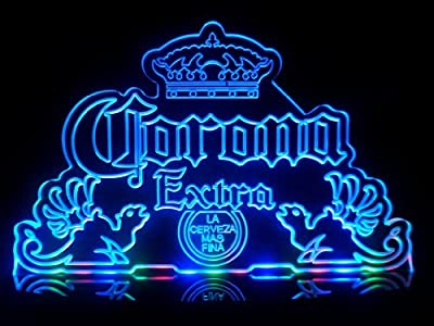 Advertising Corona Extra LED Desk Lamp Night Light Beer Bar Bedroom Game Room Signs