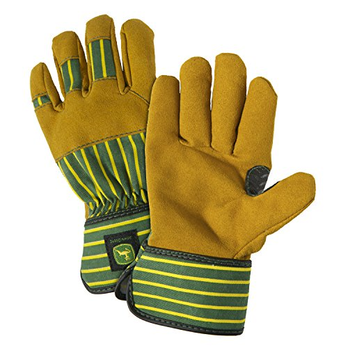 john-deere-jd00024-just-like-dad-leather-gloves-youth-tan-pack-of-1-pair