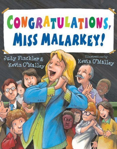 Congratulations, Miss Malarkey! by Judy Finchler (2011-06-07) (Malarkey Miss Congratulations)