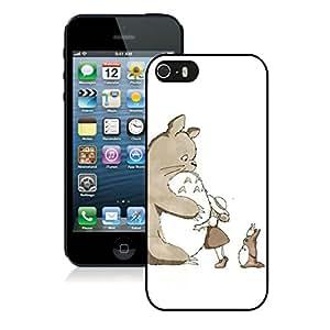 Fashion Designed My Neighbor Totoro 7 Black iPhone 5S Phone Case