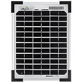 Offgridtec Solarpanel, 5 W, 12 V Solarmodul Monokristallin, 002960