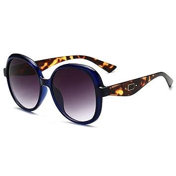 XCTYQ Gafas De Sol Gafas De Sol con Montura Redonda para ...