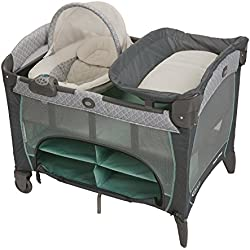 Graco Pack 'N Play Playard with Newborn Napperstation DLX, Manor, One Size