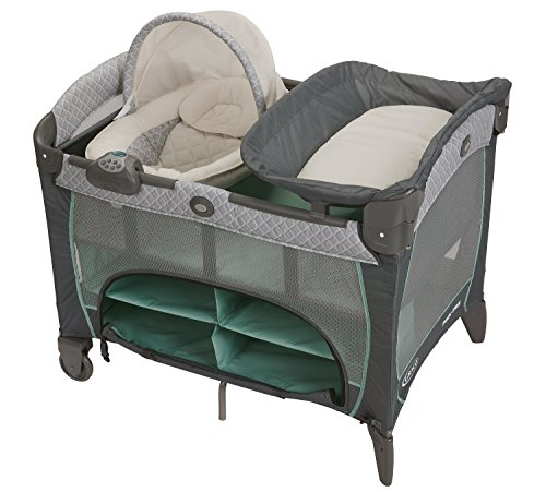 Graco Pack 'N Play Playard with Newborn Napperstation DLX, Manor