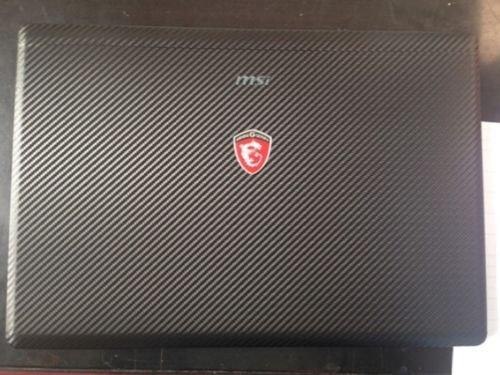 Special Laptop Black Carbon Fiber Vinyl Skin Stickers