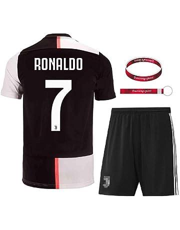 b46ca411b Daoseng Maglia Juventus 2018 2019 Tuta da Allenamento per Ragazzo Uniforme da  Calcio T-Shirt