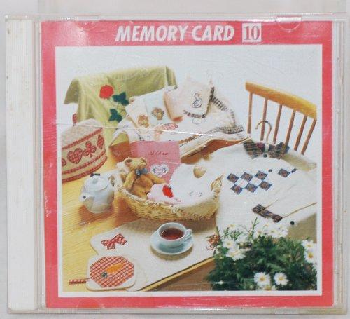 - Janome MC8000 Design Memory Card - Applique Series Card 10