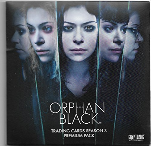 SDCC Exclusive 2017 Cryptozoic Orphan Black Season 3 Premium Pack 3 Autographs & 1 Chase (Fox Trading Cards)